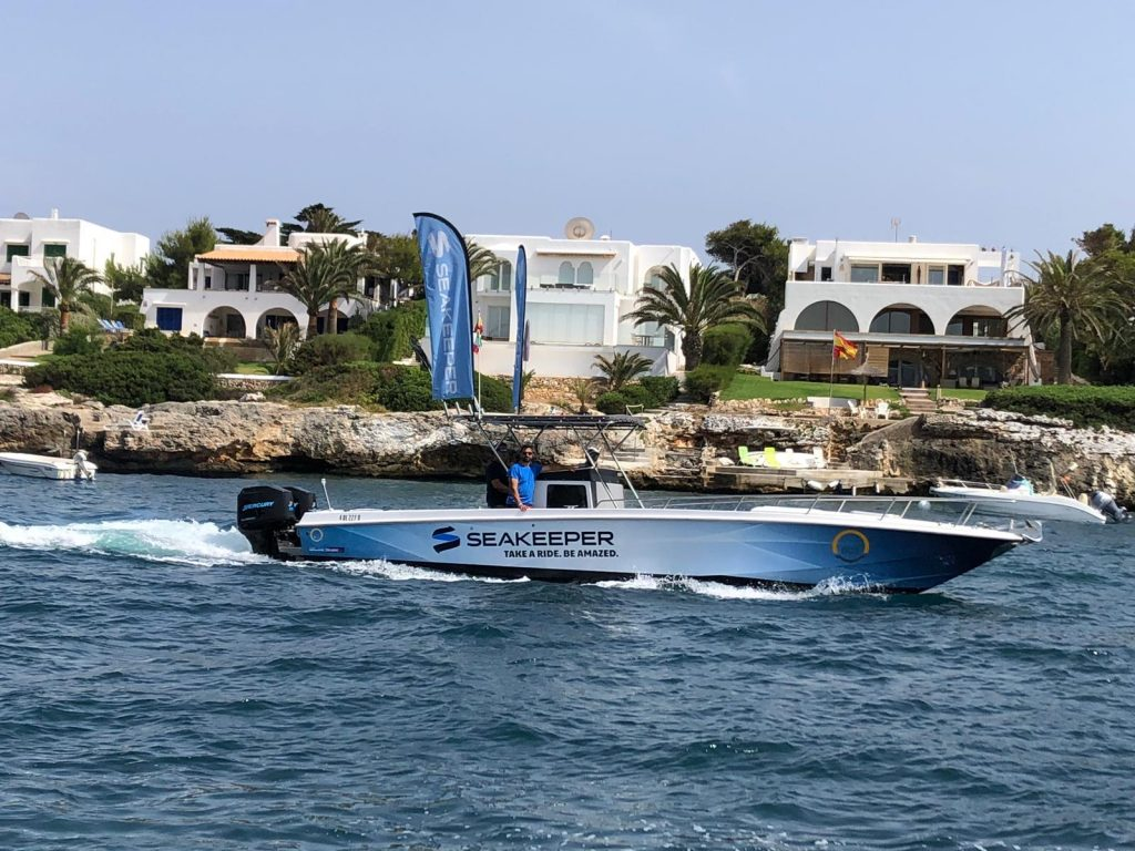 Prueba de mar de un estabilizador Seakeeper - Boat Control